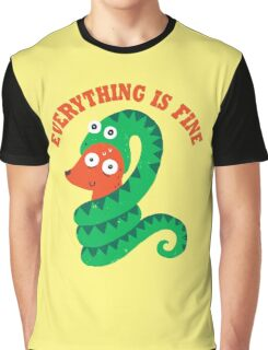 Everything Is Fine Graphic T-Shirt