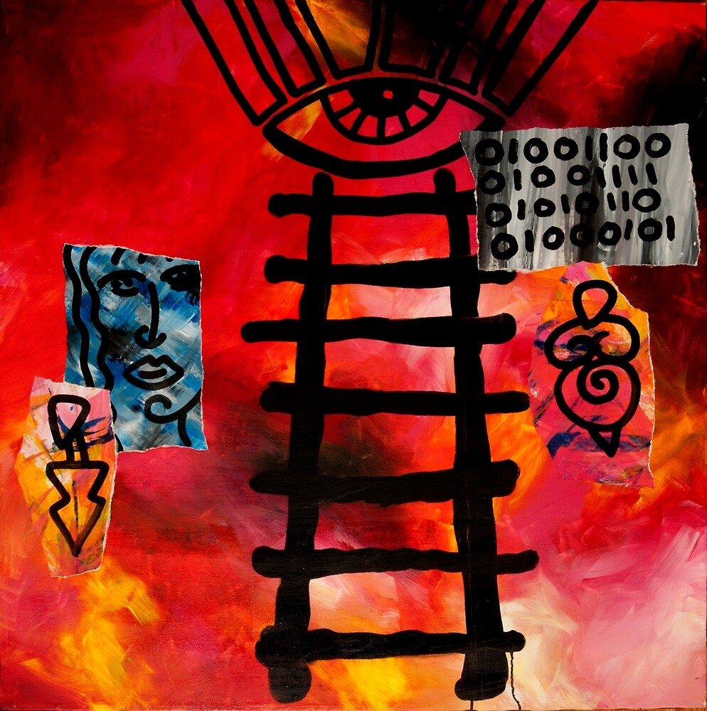 Ladder to Enlightment by RoByn Thompson