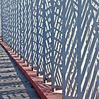 Contemporary Fence by phil decocco