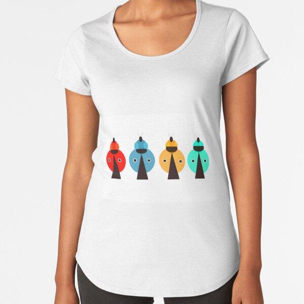 LadyBug Dezine 4 Premium Scoop T-Shirt