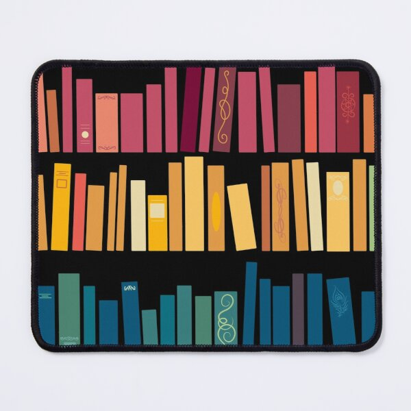Colorful Library Mouse Pad