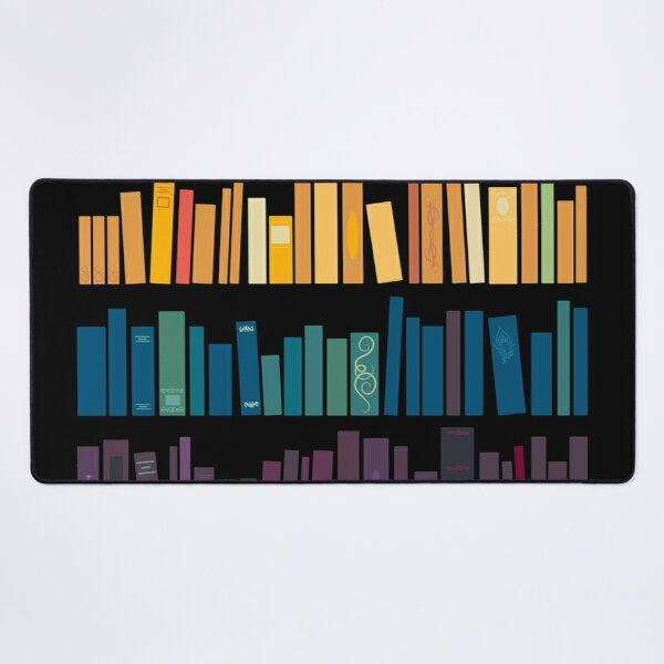 Colorful Library Desk Mat
