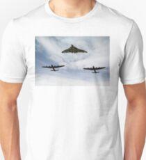 Three Avro bombers Unisex T-Shirt