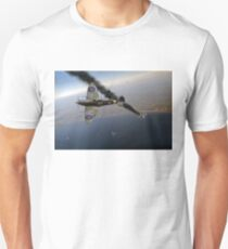 303 Squadron Spitfires in Channel dogfight Unisex T-Shirt
