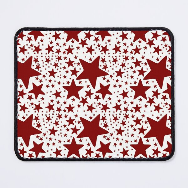 Pattern with stars Mouse Pad