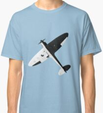 White and night Spitfire design Classic T-Shirt