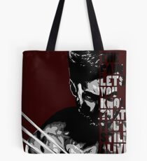 wolverine's pain Tote Bag