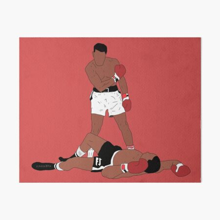 Muhammad Ali Iconic Pose Art Board Print
