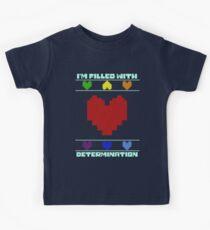 Entschlossenheit. Kinder T-Shirt
