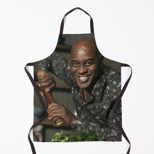 Spicy Ainsley - A portrait in oil Apron