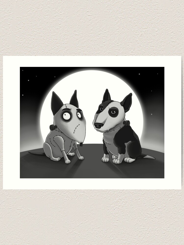 Frankenweenie Art Print By Cpearson Redbubble