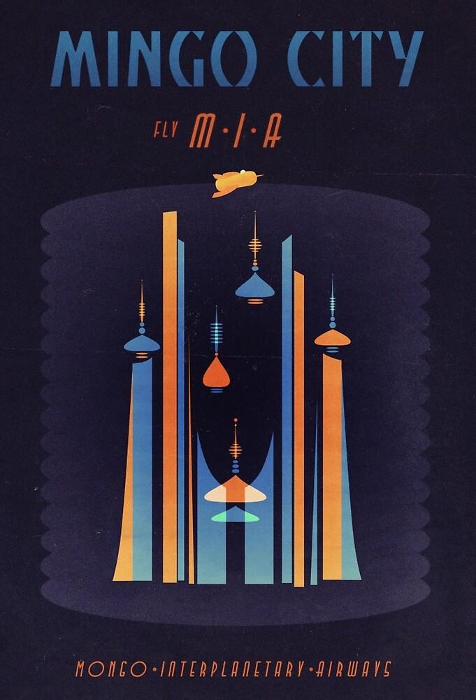 Mingo City (Flash Gordon Series) by Greg Stedman