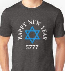 Jewish Happy New Year 5777  T-Shirt