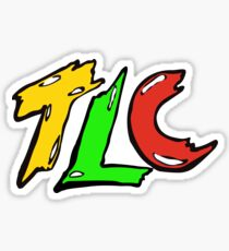 TLC Logo Vintage T-shirt Sticker