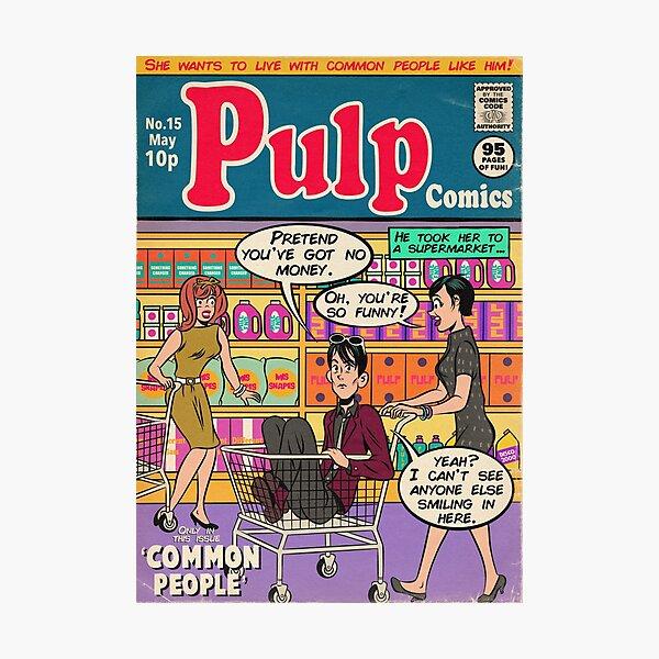 Supermarket Pulp Photographic Print