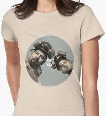 Breaking Bad Walt and Jesse BrBa Womens Fitted T-Shirt