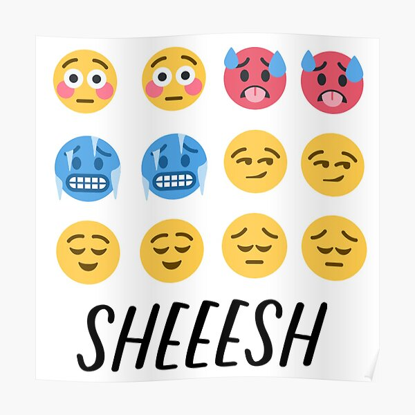 Paquete de emoji discord sheesh Póster
