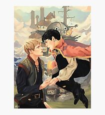 MERLIN'S MOVING CASTLE Photographic Print