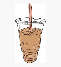 Iced Coffee Photographic Print