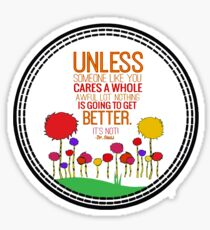 Unless  Sticker
