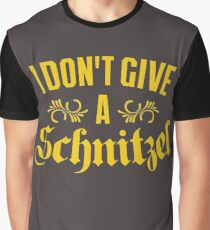 I Don't Give A Schnitzel Graphic T-Shirt