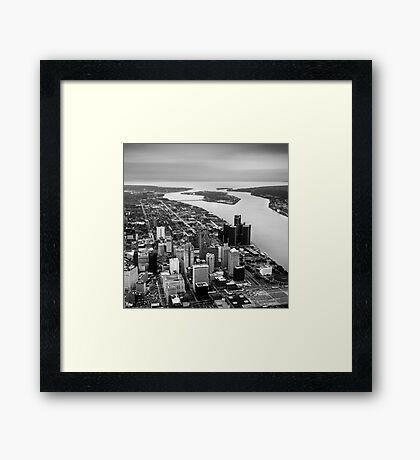 Rivière du Détroit Framed Print