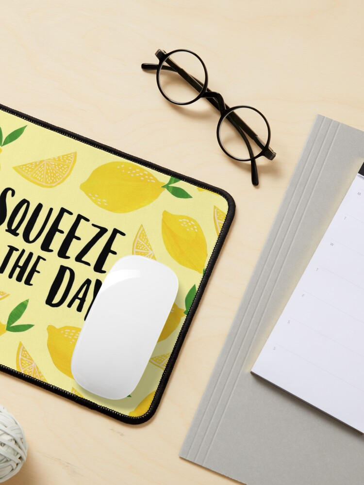 Alternate view of Squeeze the Day Mouse Pad