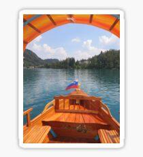 Lake Bled, Slovenia Sticker