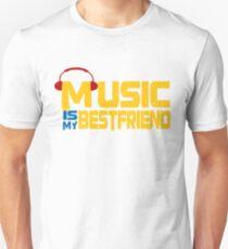 Music Is My Best Friend Unisex T-Shirt