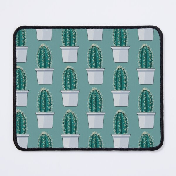 Little Potted Cactus Mouse Pad