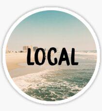 Local sticker Sticker