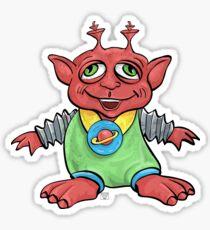 Melvin Martian the Eldest Son Sticker