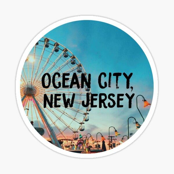 Ocean City, New Jersey Sticker