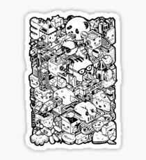ISOMETRIC CITY Sticker