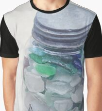 Beach Glass Collection Graphic T-Shirt