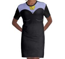 Villain Torso Graphic T-Shirt Dress