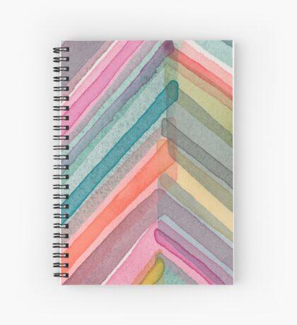 Pivot in Warm Prism Spiral Notebook