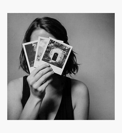 The Shy Photographer Photographic Print