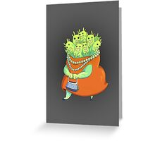 Undercover Monster Greeting Card