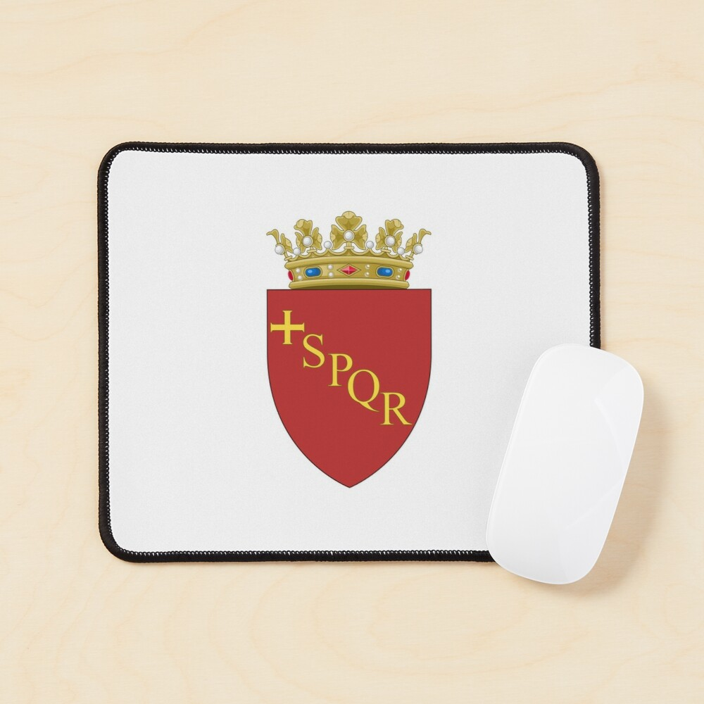 Rome Coat or Arms Mouse Pad