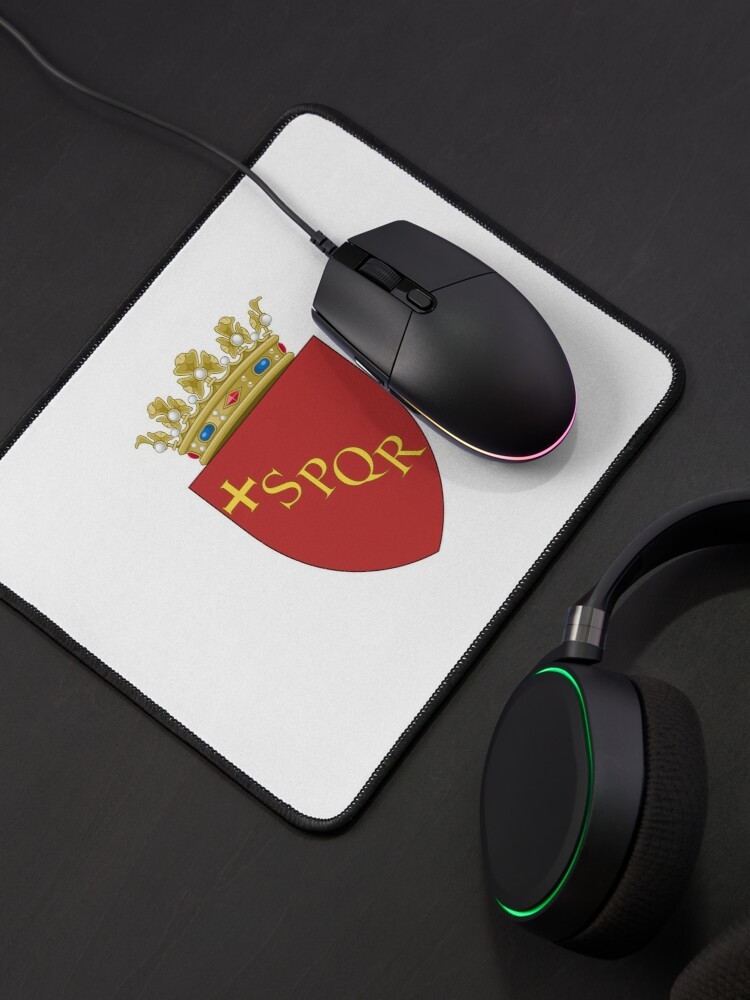 Alternate view of Rome Coat or Arms Mouse Pad