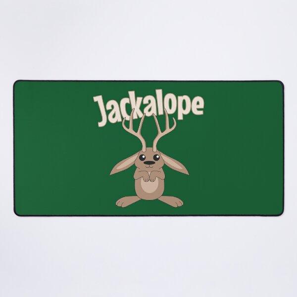 Jackalope Desk Mat