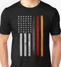 German American Flag Unisex T-Shirt
