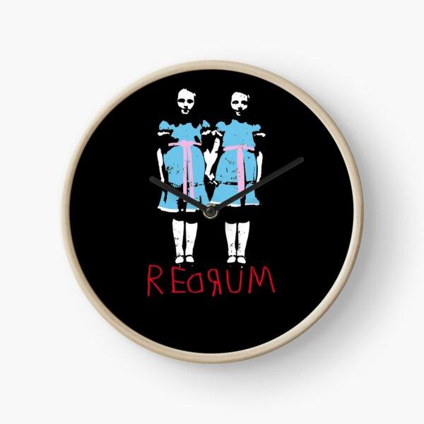 Redrum Redrum Redrum Clock