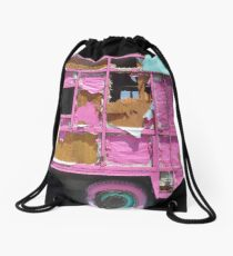 IT'S PINK AND GOING NOWHERE Drawstring Bag