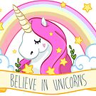 Believe in unicorns by lunaticpark