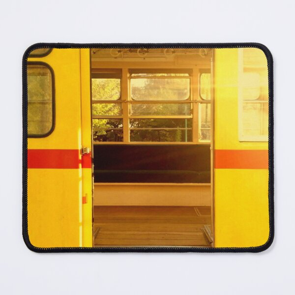 Old Tokyo Bus Mouse Pad