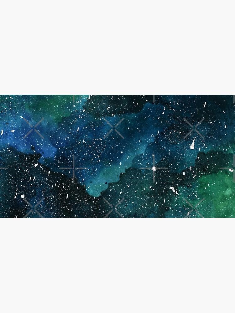 Emerald Galaxy by KathrinLegg