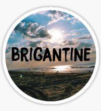 Brigantine  Sticker