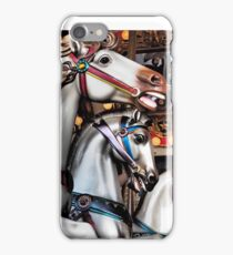 Vintage Horse Carousel Merry-Go-Round Carnival Ride  iPhone Case/Skin
